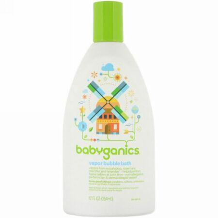 BabyGanics, ベイパー バブルバス、 12 fl oz (354 ml) (Discontinued Item)