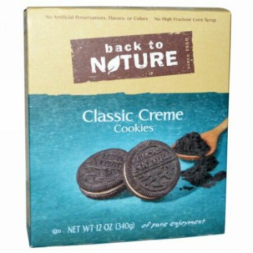 Back to Nature, クラシック・クリームクッキー、12 oz (340 g) (Discontinued Item)