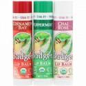 Badger Company, Limited Edition, Organic Classic Lip Balm Sticks, 3 Lip Balm Sticks (Discontinued Item)
