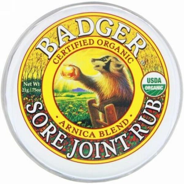 Badger Company, ソアジョイントラブ、 アルニカブレンド、0.75オンス (21 g)
