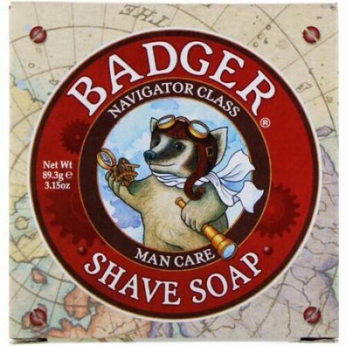 Badger Company, シェーブ・ソープ、ナビゲータークラス、マンケア、3.15 オンス(89.3 g) (Discontinued Item)