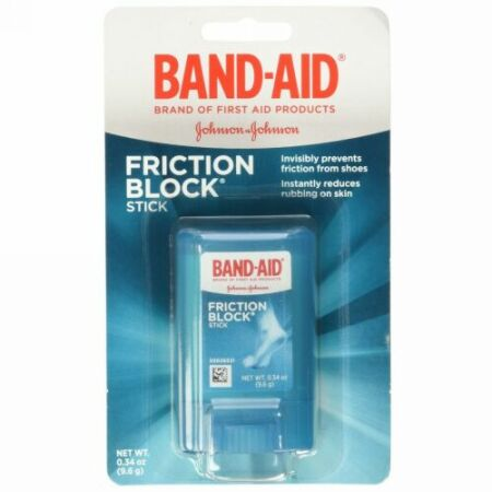 Band Aid, Friction Block Stick, .34 oz (Discontinued Item)