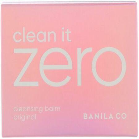 Banila Co., クリーン・イット・ゼロ、クレンジングバームオリジナル、3.38液量オンス (100 ml) (Discontinued Item)