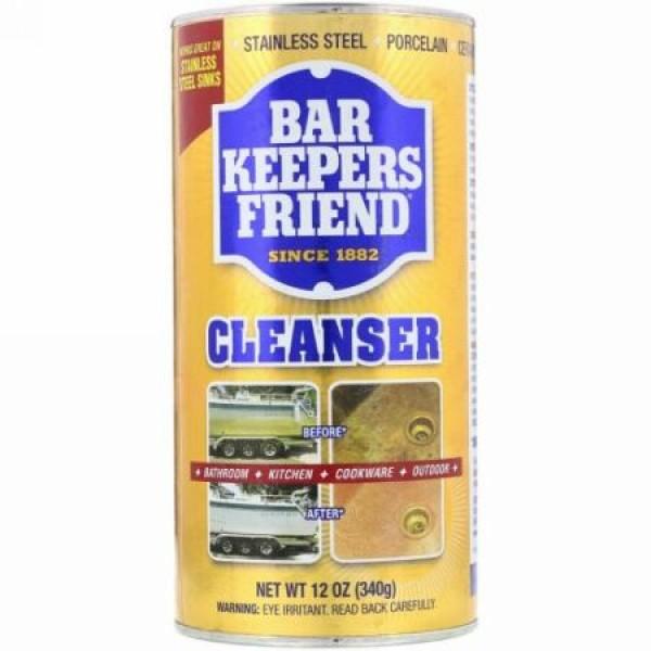 Bar Keepers Friend, クレンザー、12 oz (340 g) (Discontinued Item)