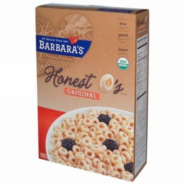 Barbara's Bakery, オネスト・オーシリアル、 オリジナル、 8 oz (227 g) (Discontinued Item)