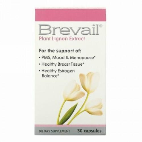 Barlean's, Brevail®(ブリベイル)植物リグナン エキス、30カプセル