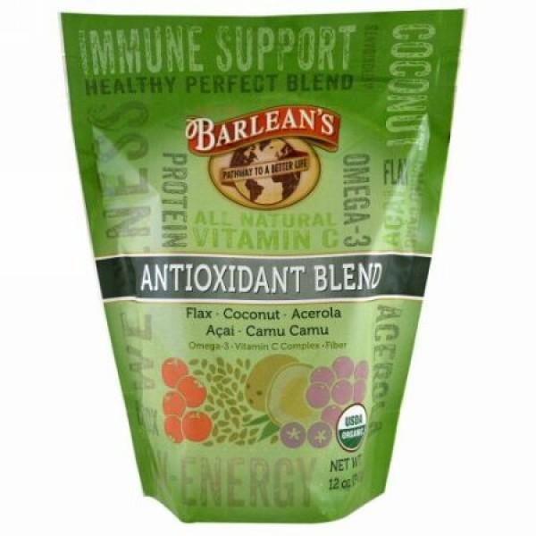 Barlean's, オーガニック、アンチオキシデントブレンド、12 oz (340 g) (Discontinued Item)