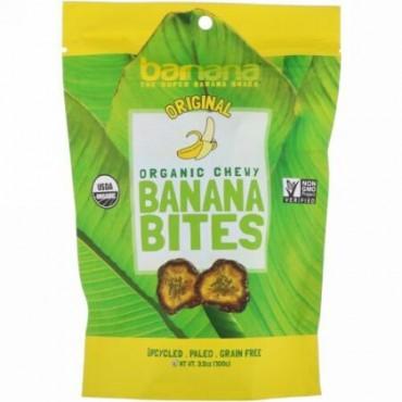 Barnana, Organic Chewy Banana Bites, Original, 3.5 oz (100 g) (Discontinued Item)