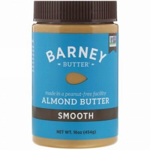Barney Butter, アーモンドバター、 スムース、 16 オンス (454 g)
