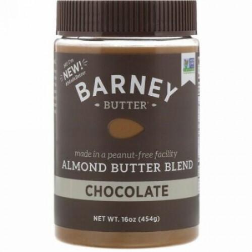 Barney Butter, Barney Butter, Almond Butter Blend, Chocolate, 16 oz (454 g) (Discontinued Item)
