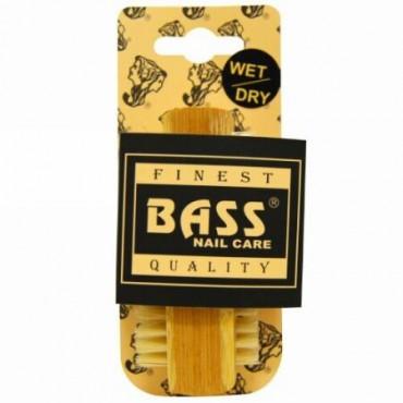 Bass Brushes, 100% ナチュラルブリストル ネイルクレンジングブラシ、 エキストラファーム 、 1 ブラシ (Discontinued Item)