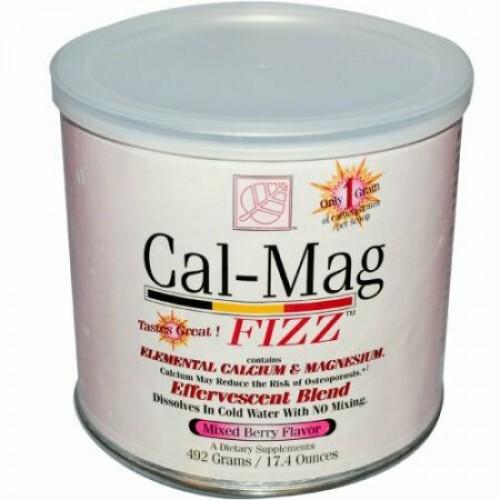 Baywood, Cal-Mag Fizz™(カル-マグ フィズ)、ミックスベリー味、17.4 オンス (492 g) (Discontinued Item)