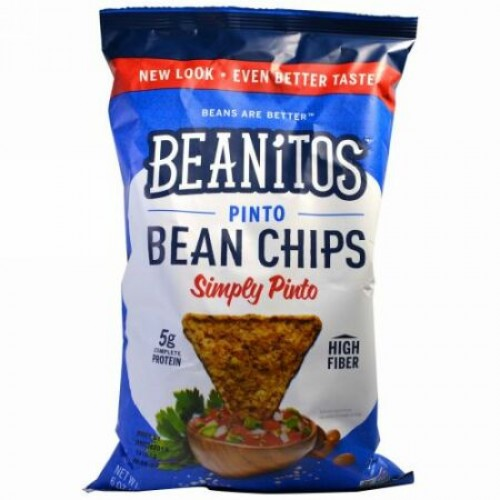 Beanitos, ピントビーンチップス、そのまんまピント、6オンス (170 g) (Discontinued Item)