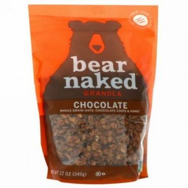 Bear Naked, 100% ピュア& ナチュラル グラノーラ、 ヘブンリーチョコレート、 12 oz (340 g) (Discontinued Item)