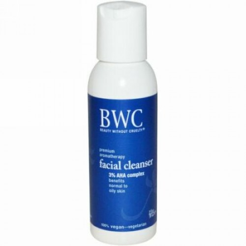 Beauty Without Cruelty, 3% AHAコンプレックス, 洗顔料, 2 液量オンス (59 ml)