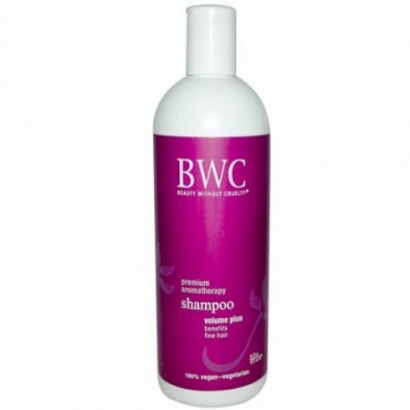Beauty Without Cruelty, シャンプー, ボリュームプラス, 16 液量オンス (473 ml) (Discontinued Item)