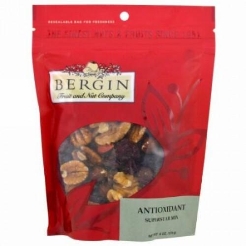Bergin Fruit and Nut Company, Antioxidant, Superstar Mix, 6 oz (170 g) (Discontinued Item)