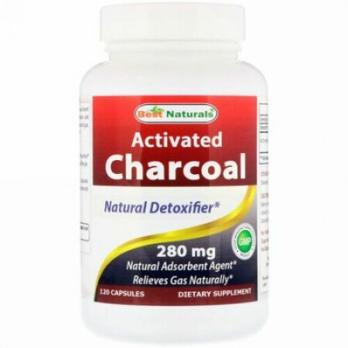 Best Naturals, Activated Charcoal, 280 mg, 120 Capsules (Discontinued Item)