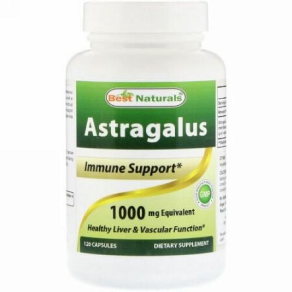 Best Naturals, Astragalus, 1000 mg , 120 Capsules (Discontinued Item)