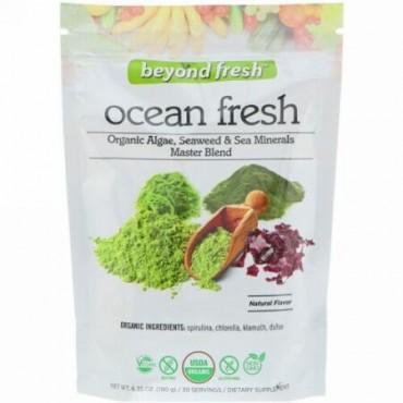 Beyond Fresh, オーシャンフレッシュ、オーガニック藻類、海藻 & 海のミネラルマスターブレンド、ナチュラルフレーバー、6.35オンス (180 g)