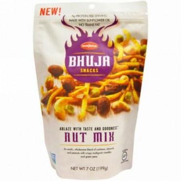 Bhuja, ナッツミックス, 199 g (Discontinued Item)