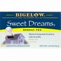 Bigelow, スイートドリームハーブ ティー、 カフェインレス、 20ティーバッグ、 1.09 oz (30 g) (Discontinued Item)