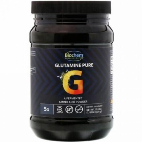Biochem, グルタミンピュア、17.6 oz (500 g) (Discontinued Item)