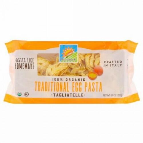 Bionaturae, 100% Organic Traditional Egg Pasta, Tagliatelle, 8.8 oz (250 g) (Discontinued Item)
