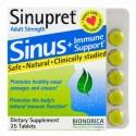 Bionorica, シヌプレット、サイナス+イミューンサポート、成人用、25粒