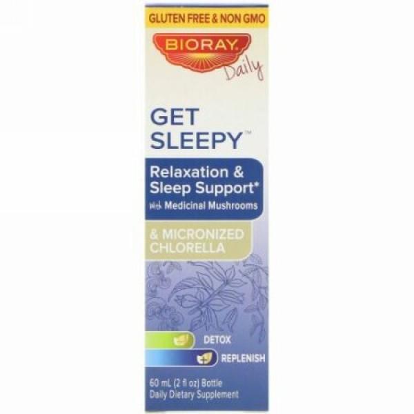 Bioray, ゲットスリーピー、リラクゼーション&睡眠サポート、2 fl oz (60 ml) (Discontinued Item)