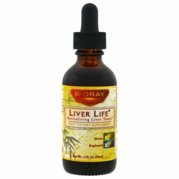 Bioray, レバーライフ、 (肝臓用強壮剤)、 2液量オンス (59 ml)