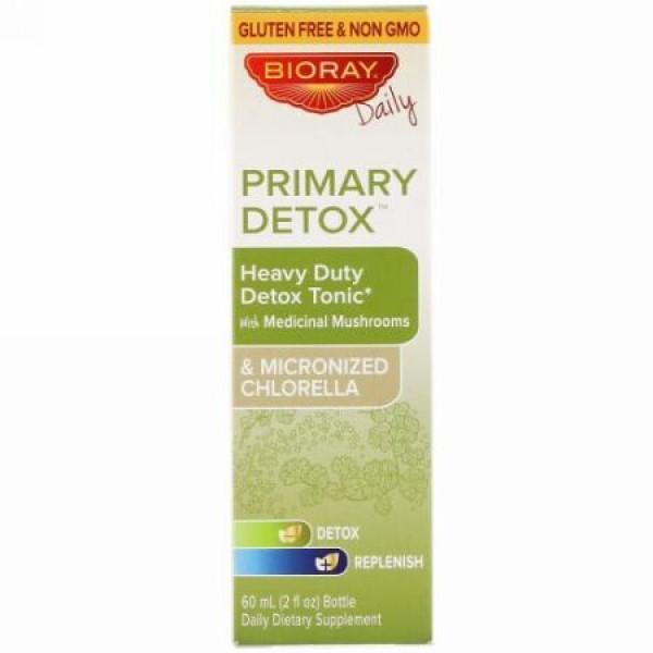 Bioray, プライマリー デトックス、ヘビーデューティー デトックストニック、アルコールフリー、2 fl oz (60 ml)