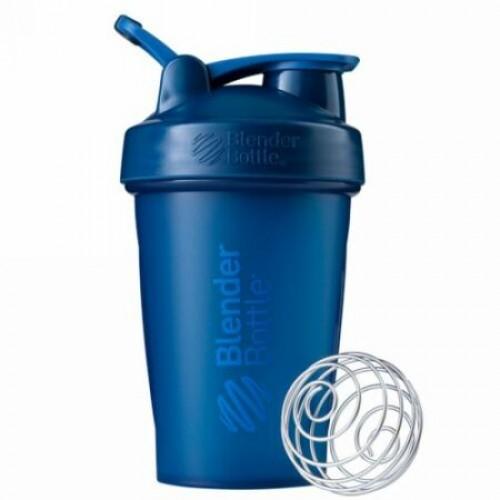 Blender Bottle, BlenderBottle, Classic With Loop, Navy, 20 oz (Discontinued Item)