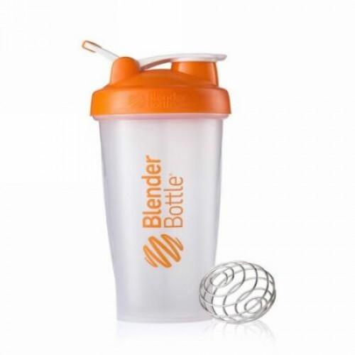 Blender Bottle, Classic Blender Bottle, with Loop, Orange, 28 oz Bottle (Discontinued Item)