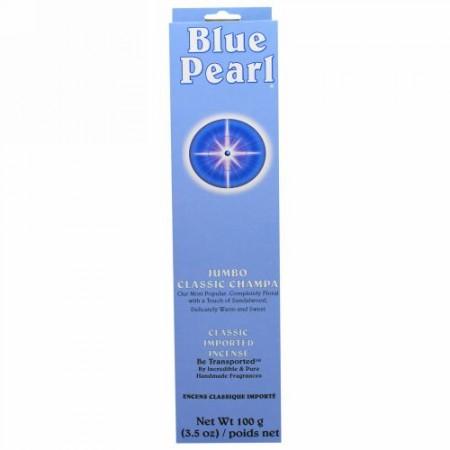 Blue Pearl, ジャンボクラシック・チャンパインセンス、 3.5 oz (100 g) (Discontinued Item)