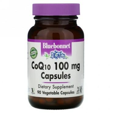 Bluebonnet Nutrition, CoQ10, 100 mg, 90ベジキャップ