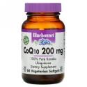 Bluebonnet Nutrition, CoQ10 200 mg ソフトジェル, ソフトジェル 60 粒
