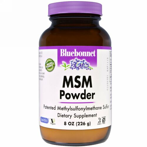 Bluebonnet Nutrition, MSMパウダー、8 oz (226 g) (Discontinued Item)