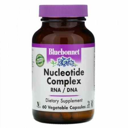Bluebonnet Nutrition, ヌクレオチド複合体, RNA / DNA, 60 Vcaps®