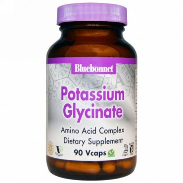 Bluebonnet Nutrition, グリシン酸カリウム、90 ベジキャップ