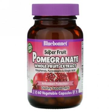 Bluebonnet Nutrition, ザクロ・ホールフルーツ・エキス、60 ベジキャップ