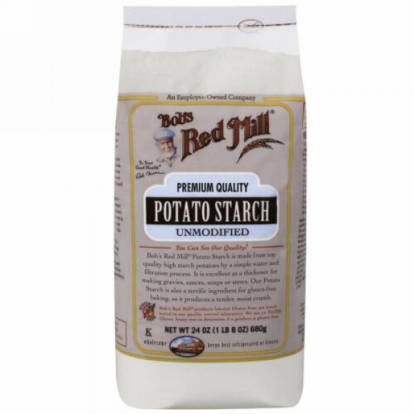Bob's Red Mill, Potato Starch, Unmodified, 24 oz (680 g) (Discontinued Item)