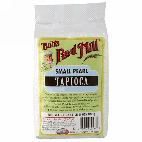 Bob's Red Mill, Small Pearl Tapioca, 24 oz (680 g) (Discontinued Item)