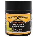 Body Fortress, 純度100%クレアチンHCL、レモン・ライム、3.52 oz (100 g) (Discontinued Item)