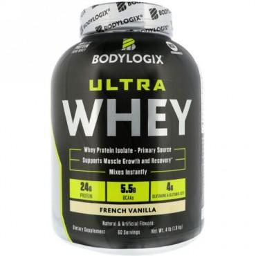 Bodylogix, Ultra Whey, French Vanilla, 4lb (1.8 kg) (Discontinued Item)