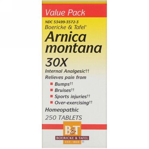 Boericke & Tafel, Arnica Montana 30X, 250 Tablets