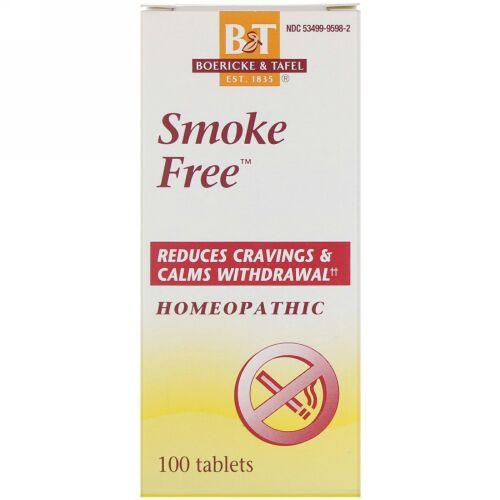 Boericke & Tafel, Smoke Free, 100 Tablets