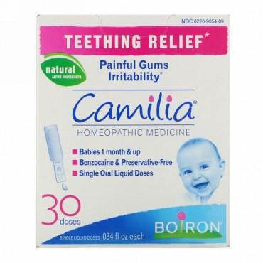 Boiron, カミリア(Camilia), 乳歯が生える際の痛みの軽減, 液体30回分, 各0.034液量オンス