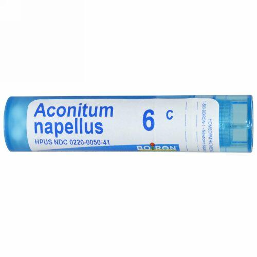 Boiron, Single Remedies, Aconitum Napellus, 6C, Approx 80 粒 (Discontinued Item)