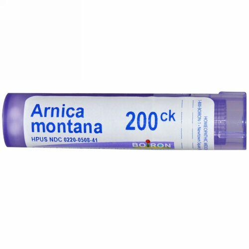 Boiron, Single Remedies, Arnica Montana(アルニカ モンタナ)、200CK、約80ペレット